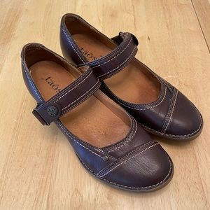 Brown Taos Mary Janes